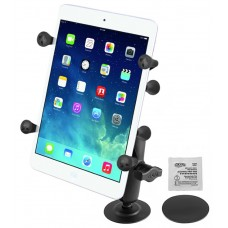 "Adhesive Flex Mount with Universal X-Grip® Holder with 1"" Ball for 7"" Tablets"